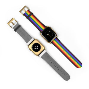 Pride Flag LGBT Colors, Apple Watch Band
