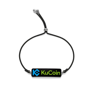 KuCoin Cryptocurrency Exhange Logo Cord Bracelet