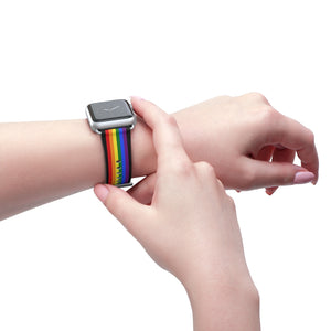Pride Flag LGBT Apple Watch Band