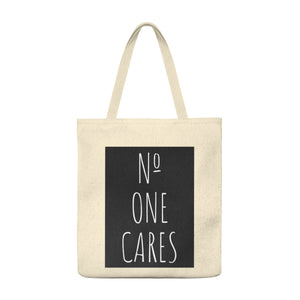Number One Cares, Shoulder Tote Bag