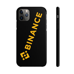 Binance Logo, Tough iPhone Case by Case Mate
