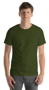 Design Your Own, Unisex Short Sleeve Jersey T-Shirt (12 colors)