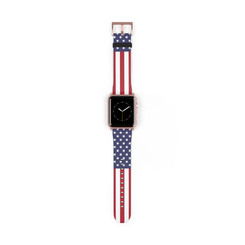 USA Flag Apple Watch Band