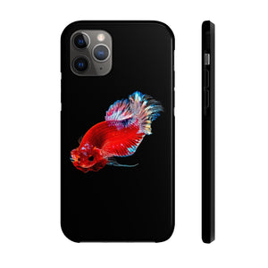 Betta Fish Apple iPhone Case