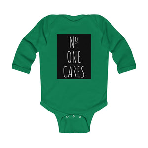 Number One Cares Long Sleeve Baby Bodysuit