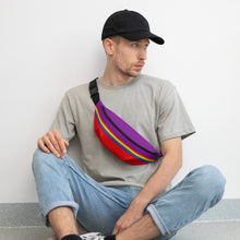 Load image into Gallery viewer, Pride Rainbow Flag Colors 2, Fanny Pack