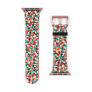 Kaleidoscopic Pattern Apple Watch Band