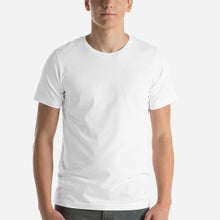 Load image into Gallery viewer, Design Your Own, Unisex Short Sleeve Jersey T-Shirt White
