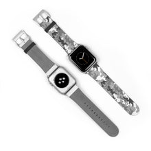 Load image into Gallery viewer, Gray Camouflage Pattern, Apple Watch Band