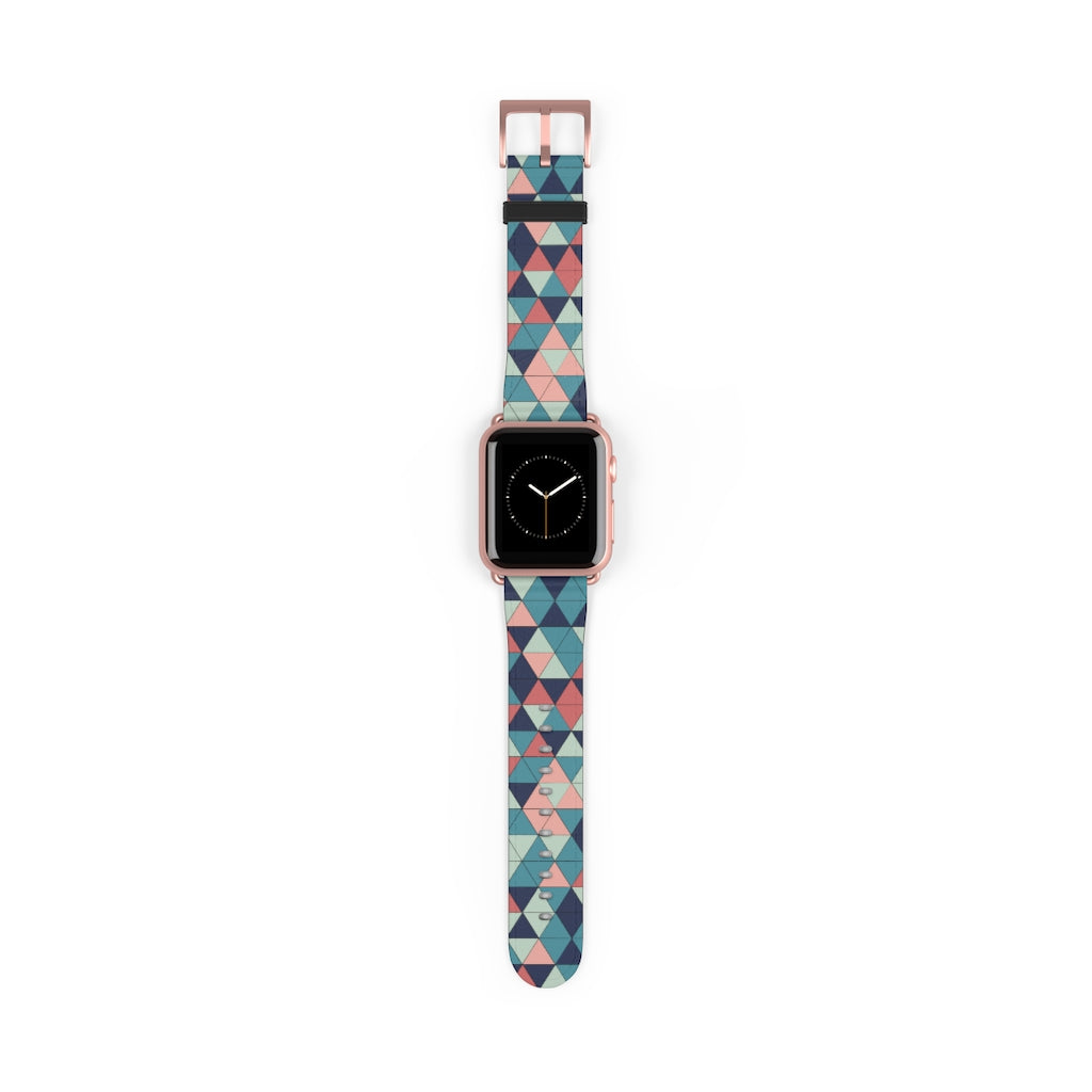Multicolor Triangle Pattern, Apple Watch accessories
