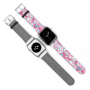 Pink Marble, Apple Watch Band