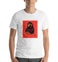 Load image into Gallery viewer, China Red Monkey Stamp 1980, Short-Sleeve Unisex T-Shirt