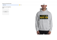 Load image into Gallery viewer, hoodie design page screenshot