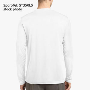 Reps Not Words, Men's Long Sleeve Moisture Absorbing Sport Tee