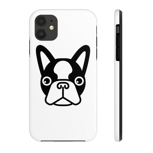 French Bulldog Face, Tough iPhone Case by Case Mate