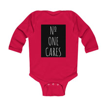 Load image into Gallery viewer, Number One Cares, Infant Long Sleeve Bodysuit