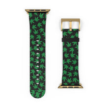 Load image into Gallery viewer, Cannabis Leaf Pattern, Apple Watch Band