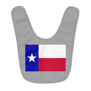 Texas Lone Star Flag Baby Bib