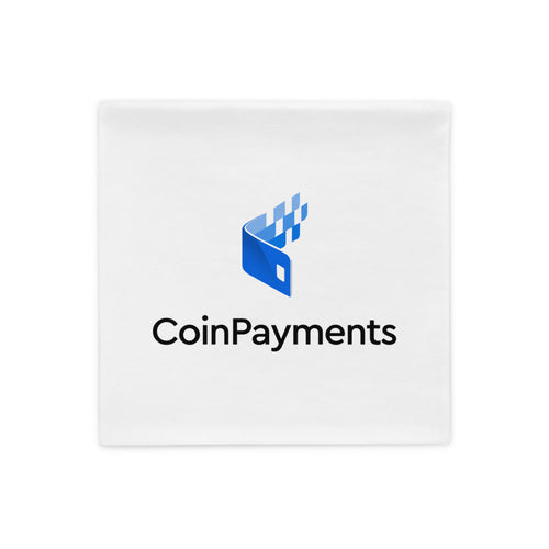 Coinpayments net logo pillow case