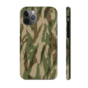Green Hunting Camo, iPhone Tough Phone Case by Case Mate