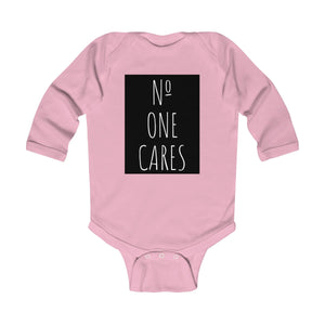 Number One Cares, Infant Long Sleeve Bodysuit