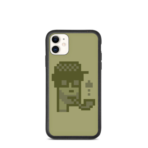 MonochromePunk Lumberjack Eco iPhone Case
