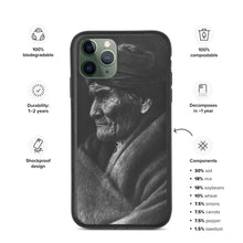 Load image into Gallery viewer, Geronimo Portrait Eco Friendly iPhone Case