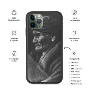 Geronimo Portrait Eco Friendly iPhone Case