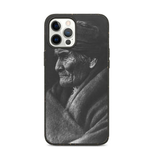 Geronimo Portrait, Eco iPhone Case