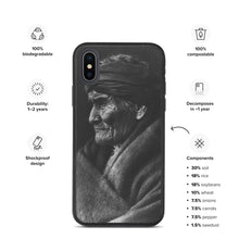Load image into Gallery viewer, Geronimo Portrait, Eco iPhone Case