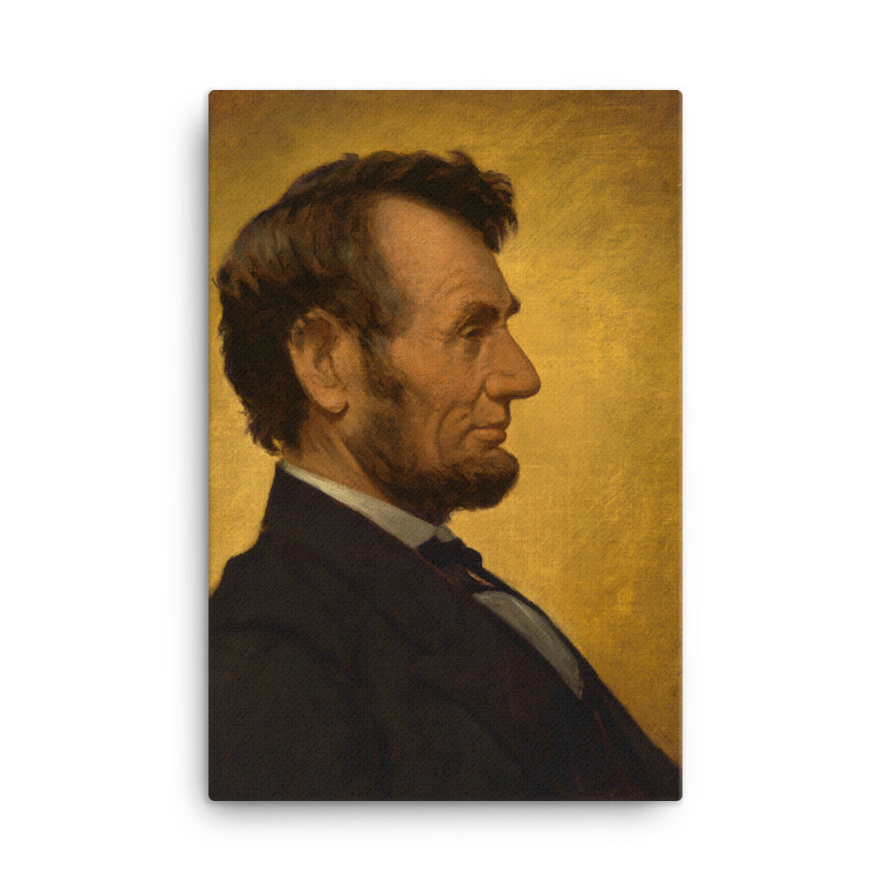 Abraham Lincoln Portrait, Canvas Wall Art