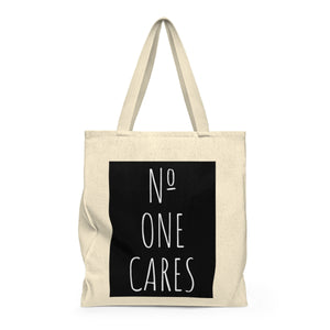 Number One Cares Shoulder Tote Bag