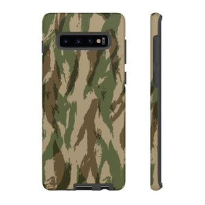 Green Hunting Camo, Samsung Galaxy S10 Tough Case