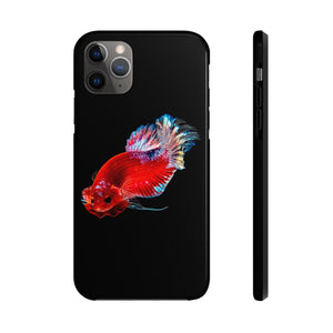 Betta Fish, Tough Apple iPhone Case By Case Mate