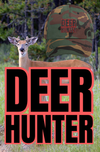 deer hunter dad hat