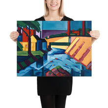 Load image into Gallery viewer, Abstract art poster