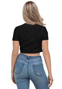 Hodl Me Tight Litecoin, Women's Crop Top Black