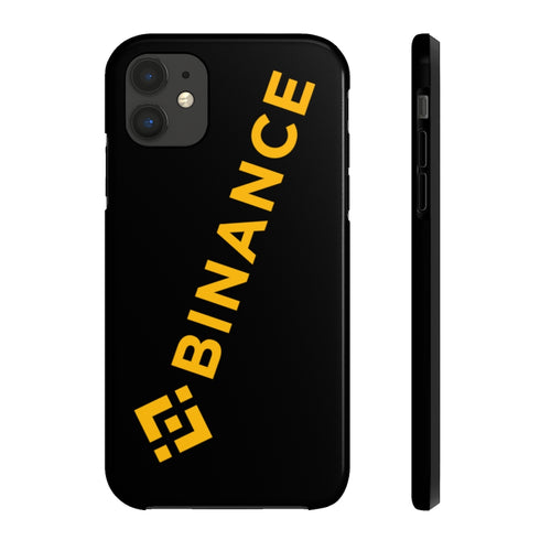 Binance Logo Tough iPhone Case by Case Mate