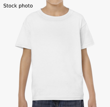 Load image into Gallery viewer, Origami Bird, Kids Heavy Cotton T-shirt