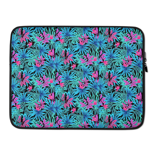 Colorful Leaves Pattern Laptop Sleeve 15 Inch