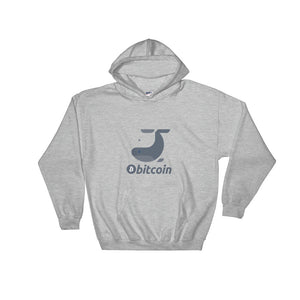Bitcoin Whale, Unisex Hooded Sweatshirt