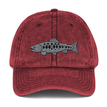 Load image into Gallery viewer, Salomon Fish Embroidered Vintage Cotton Dad Hat