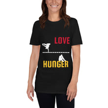 Load image into Gallery viewer, Love and Hunger 2, Short-Sleeve Unisex T-Shirt