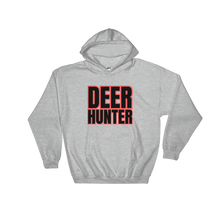 Load image into Gallery viewer, Deer Hunter Text, Unisex Hooded Sweatshirt