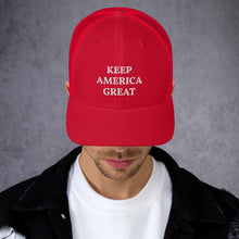 Load image into Gallery viewer, Keep America Great Trucker Cap