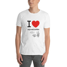 Load image into Gallery viewer, I Love Heart Aquascaping, Short-Sleeve Unisex T-Shirt