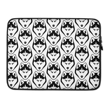Load image into Gallery viewer, Husky Face Laptop Sleeve