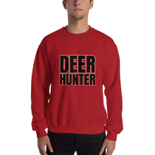 Load image into Gallery viewer, Deer Hunter Text, Unisex Sweatshirt