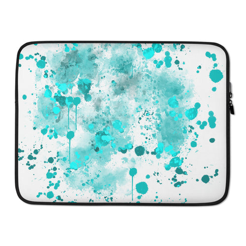 Watercolor Splash Laptop Sleeve