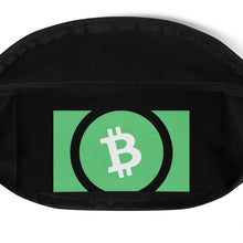Load image into Gallery viewer, Bitcoin Cash Cryptocurrency Logo, Fanny Pack
